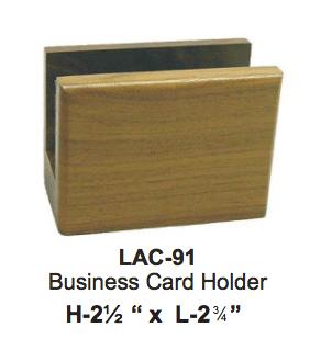 WALNUT BUSINESS CARD HOLDER
