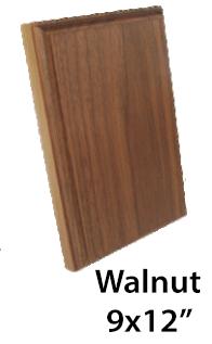 WALNUT PLAQUES