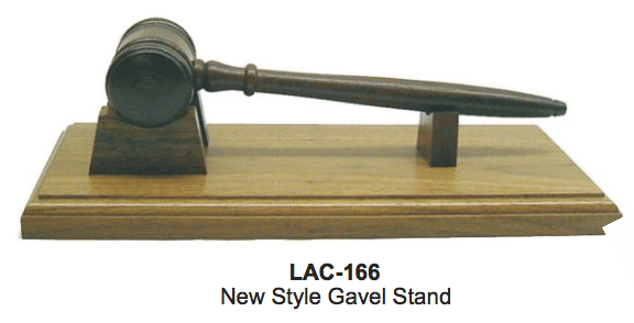 GAVEL & STAND PLATE ONLY