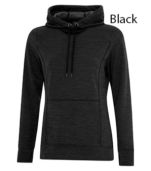 ATC™ DYNAMIC HEATHER FLEECE HOODED LADIES SWEATSHIRT